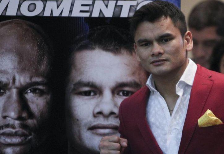 El boxeador argentino Marcos René Maidana, 'El Chino'. (EFE/archivo)