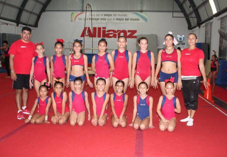 SandrA Garfias ha demostrado su calidad con el título regional en Nivel 5. (Raúl Caballero/SIPSE)