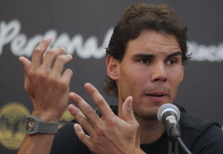 Nadal regresó con excelente nivel al tenis después de una larga ausencia por lesión en una de sus rodillas. (EFE/Archivo)
