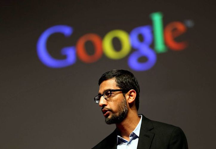 Fotografía del vicepresidente de Google y responsable de Android en el buscador, el indio Sundar Pichai, quien explicó que TensorFlow ha ayudado a la compañía que dirige a desarrollar aplicaciones mucho más inteligentes. (Archivo/EFE)