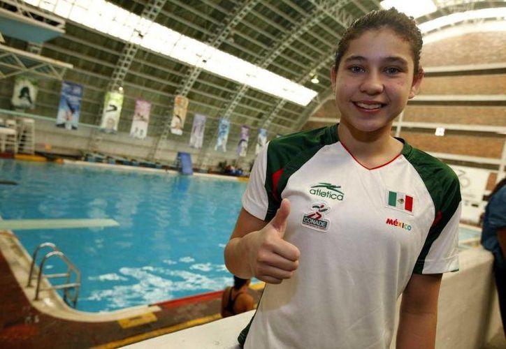 Dolores Hernández (foto) y Paola Espinosa no tuvieron mucho tiempo para prepararse para el Mundial. (mexico.lainformacion.com/Archivo)