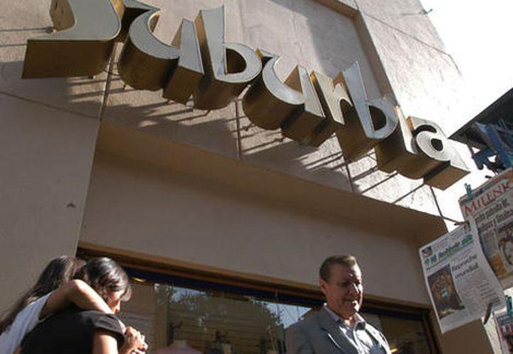 En agosto Walmex llegó a un acuerdo definitivo para vender Suburbia a la cadena El Puerto de Liverpool. (Milenio)