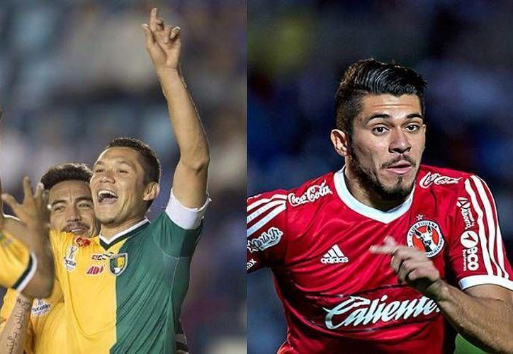 Hasta hace poco Freddy Martin (i) disfrutaba su debut en Primera División, mientras que su hermano Henry el haber llegado a la Selección Mexicana. Hoy el primero está a punto descender con Dorados de Sinaloa, y el otro será sometido a una operación de rodilla. (adndeportivo.com)