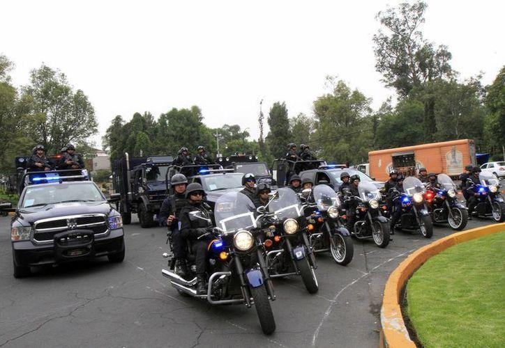 La Coordinación Nacional de Protección Civil exhortó a los vacacionistas a tomar precauciones y mantenerse informado. En la foto, inicio del operativo de seguridad. (Notimex)