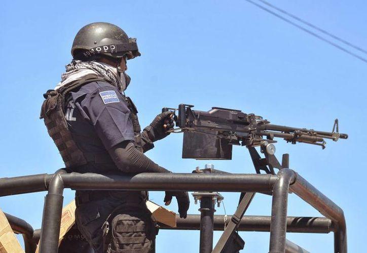 Fuerzas federales mantienen férrea vigilancia en todo Michoacán; esta mañana fue abatido otro líder templario. (Archivo/esquema.mx)
