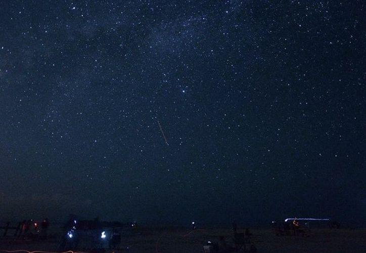 La lluvia de estrellas Cuadrántidas se podrá ver a partir de las 21:23 horas. (Contexto/Internet)