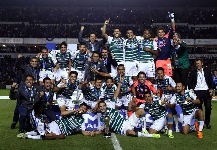 Santos Laguna se coronó campeón del Clausura 2015. (Notimex)