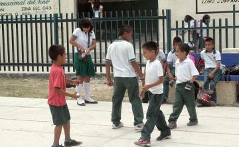 El cuidado de los menores es necesario para el crecimiento con bases firmes. (Redacción/SIPSE)