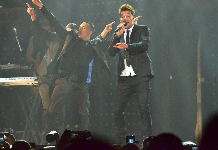"""Ante más de 15 mil fanáticos, Ricky Martin llamó a los """"cubanos, mexicanos, venezolanos, colombianos... brasileños"""" a unirse ante el reto. (Archivo/Notimex)"""