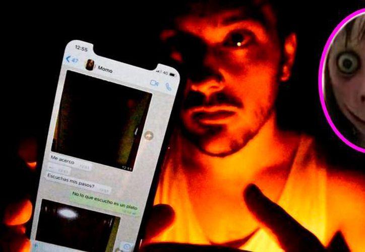 """""""Momo"""" es el nuevo reto viral en whatsApp que está causando daño entre los jóvenes (Foto: La República de Perú)"""