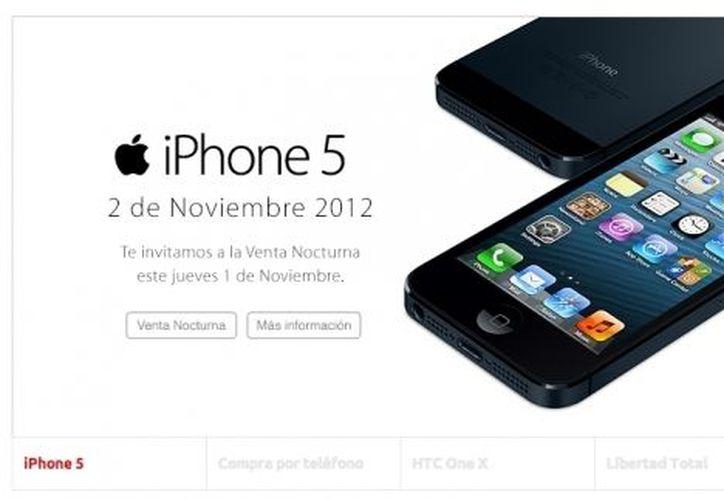 El servicio de datos para el iPhone 5 será través de la red HSPA+ de Iusacell. (Foto: Iusacell)