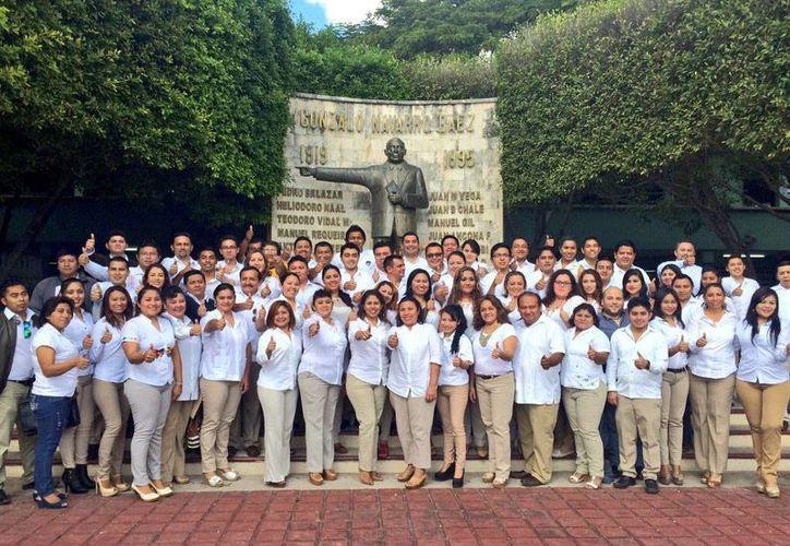 Los egresados de la Escuela de Cuadro del PRI en Yucatán se comprometieron a transformar la política. (SIPSE)