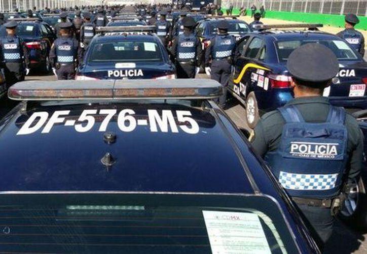 Un policía capitalino fue detenido tras ser acusado por una de sus subordinadas, de abuso.  (Milenio.com)