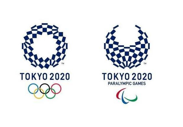 Tokio 2020 presentó sus nuevos logotipos: el de la izquierda es para los Olímpicos y el de la derecha para los Paralímpicos. (AP)