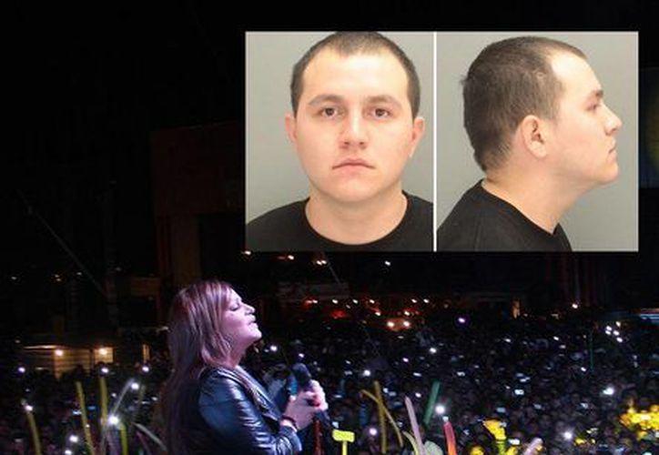 El hijo de la diva de la banda fue arrestado el jueves. (SIPSE.com)