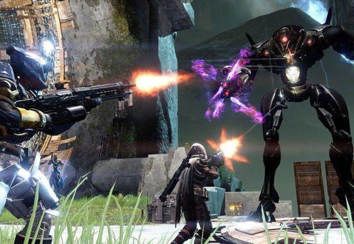 Imagen de Activision donde se ve una escena del videojuego 'Destiny'. (Agencias)