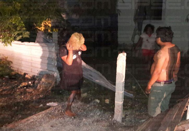 La agresión contra una familia terminó con dos menores lesionados y dos detenidos. (Milenio Novedades)