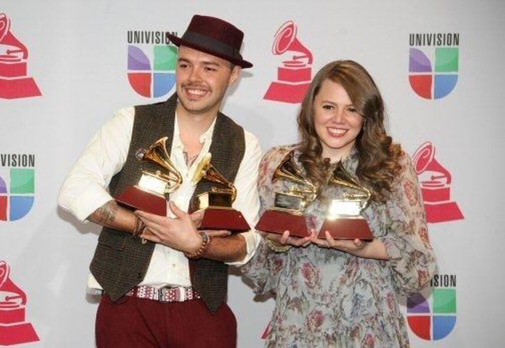 Jesse & Joy fueron los grandes ganadores de los Latin Grammy. (Archiv SIPSE)