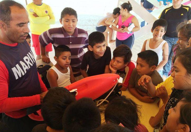 De Vuelta al Mar, es un programa implementado desde hace dos años. (Daniel Pacheco/ SIPSE)