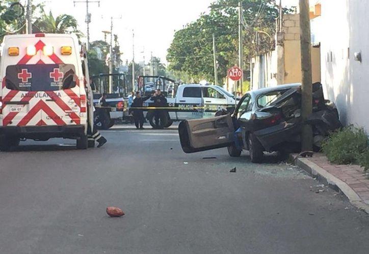Elementos policiales activaron el Código Rojo tras el reporte de una balacera en la Región 231. (Redacción/SIPSE)