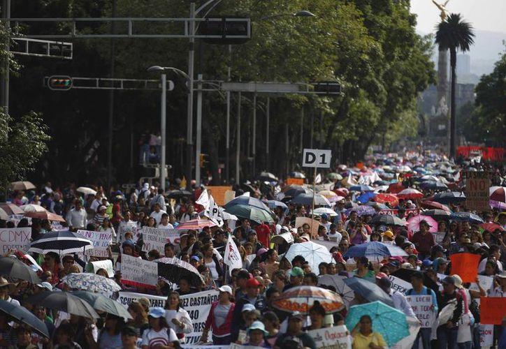Esta mañana se reportó más de 50 cierres a la circulación en diferentes puntos de la ciudad de México. (Archivo/Notimex)