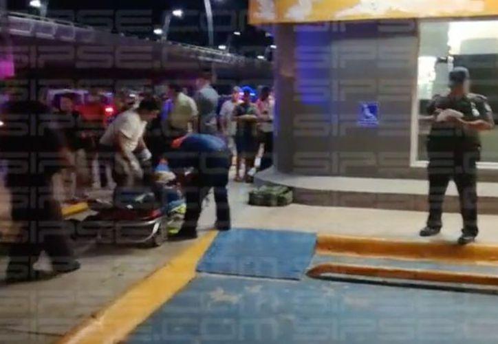 Movilizan a la policía por 'presunto' herido por arma de fuego sobre el bulevar Playa del Carmen. (Foto: SIPSE)