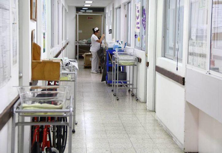 Una de las pequeñas continúa en el Hospital General. (Gonzalo Zapata/SIPSE)