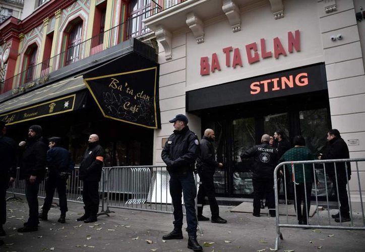 Una francesa musulmana impidió hace un año una nueva matanza terrorista en París. En la foto, la Sala Bataclán, donde fallecieron decenas de personas. (Afp)