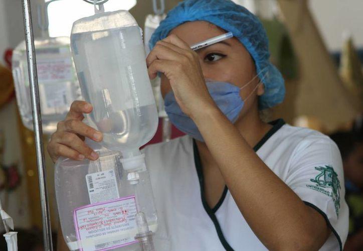 Actualmente la División de Ciencias de la Salud de la Uqroo, tiene una matrícula de mil 400 alumnos. (Eddy Bonilla/ SIPSE)