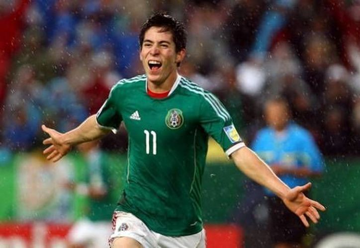 Marco Bueno, campeón del mundo en el Mundial sub-21 en 2011, se estrenará con la Selección Mayor debido a que Oribe Peralta se lesionó. (mediotiempo.com)