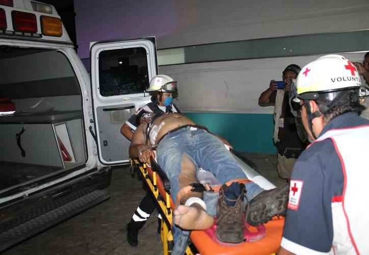 El baleado fue trasladado de emergencia al Hospital General. (Redacción/SIPSE)