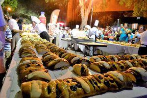 Parten en Mérida la Rosca de Reyes más grande de México