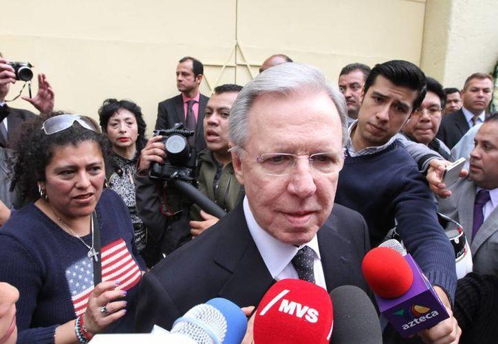 Joaquín López-Dóriga quedaría fuera de la barra de noticias de Televisa, según datos de la Revista Proceso. (Archivo/Notimex)