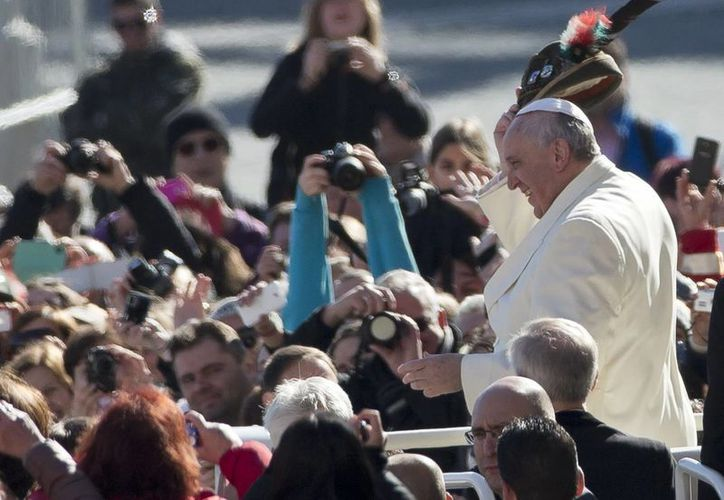 El Papa se entrevistará con Obama el próximo 26 de marzo, lo que aprovecharán los migrantes para manifestarse. (Agencias)