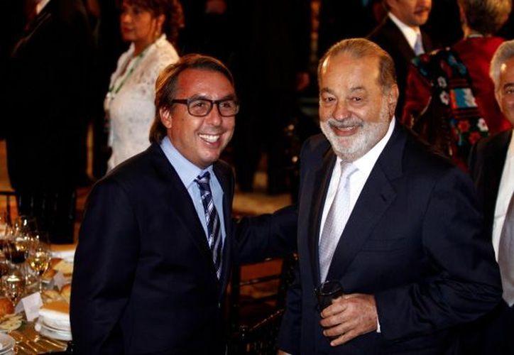 Azcarraga es propietario del América y el Necaxa; mientras que Slim, es accionista de Grupo Pachuca. (Foto: Agencias)