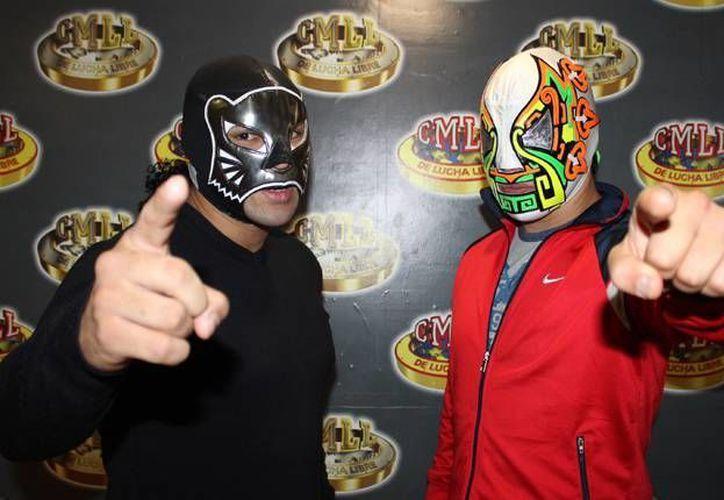 The Panther y Guerrero Maya Jr. se enfrentarán el 23 de enero en Tokio a Bobby Z y Okumura en Fantasticamanía 2016. (Imagen tomada de mobzillahosting.com)