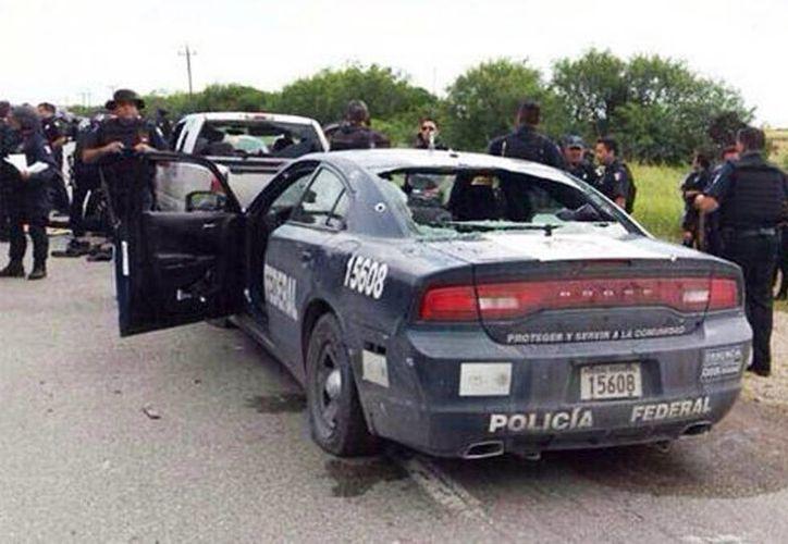 Los agentes heridos fueron trasladados vía aérea de San Fernando, Tamaulipas, a la Cuarta Región Militar y posteriormente a una clínica en Monterrey. (Milenio)