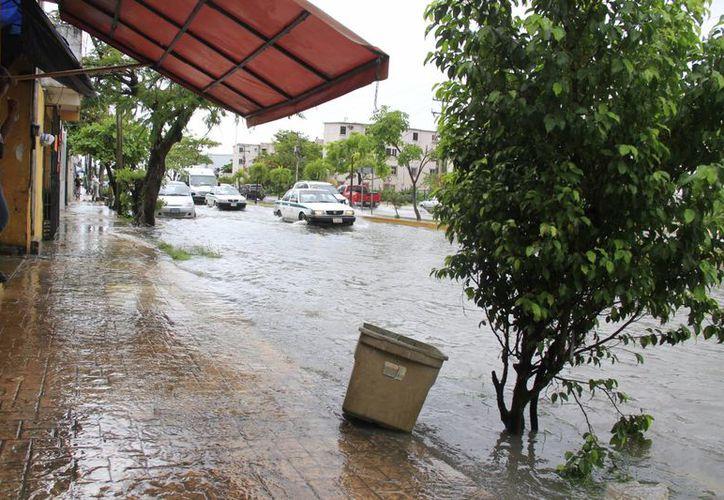El mes pasado se registraron lluvias de casi una semana. (Redacción/SIPSE)