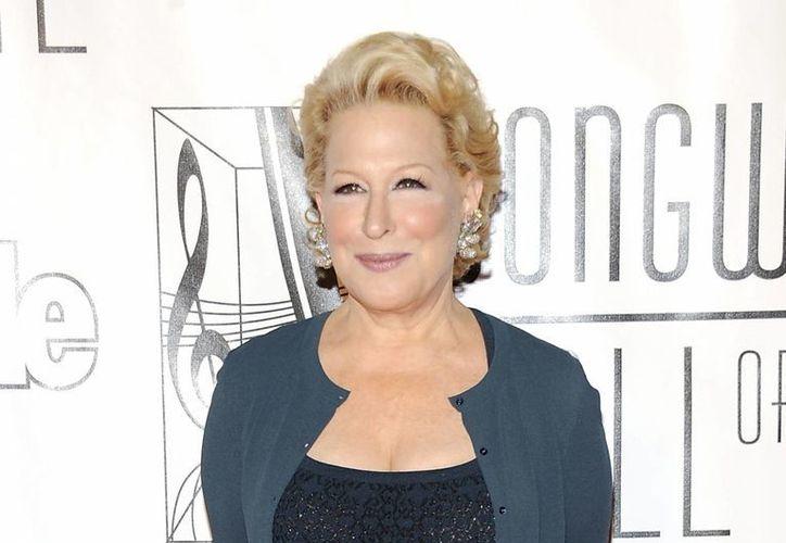 Bette Midler tendrá una presentación inédita en la entrega de los premios Oscar. (Agencias)