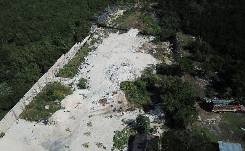 Desde el pasado 18 de enero se dio a conocer que en un terreno del área protegida se colocó una barda con un portón. (Cortesía)