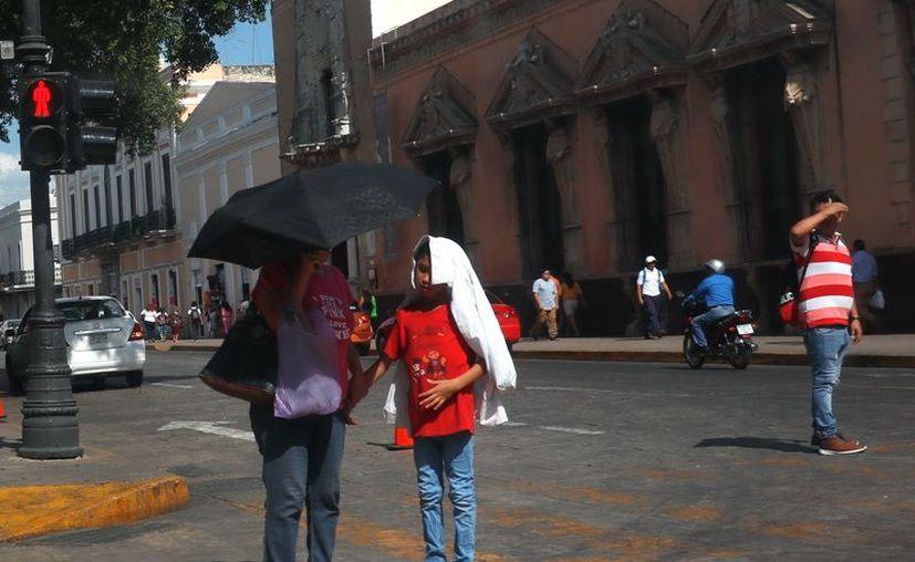 Las temperaturas serán de muy calurosas a extremadamente calurosas este miércoles. (Novedades Yucatán)