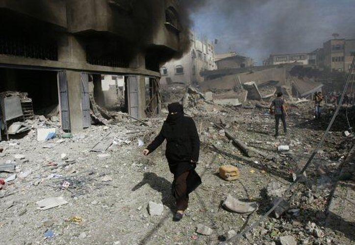 Israel y Hamas han recrudecido en los últimos dias sus ofensivas armadas. (Agencias)