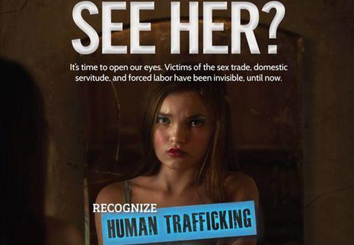 Los aeropuertos de todo Estados Unidos tendrán una campaña para detectar y evitar casos de tráfico de personas. (AP)