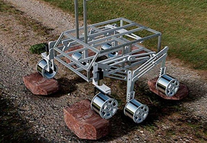 Diseño del vehículo robótico para explorar zonas agrestes. (Foto: Conacyt)