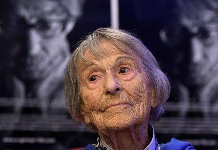 Brunhilde Pomsel pasó su vida desapercibida hasta que apareció en un documental sobre el régimen nazi. (Excélsior)