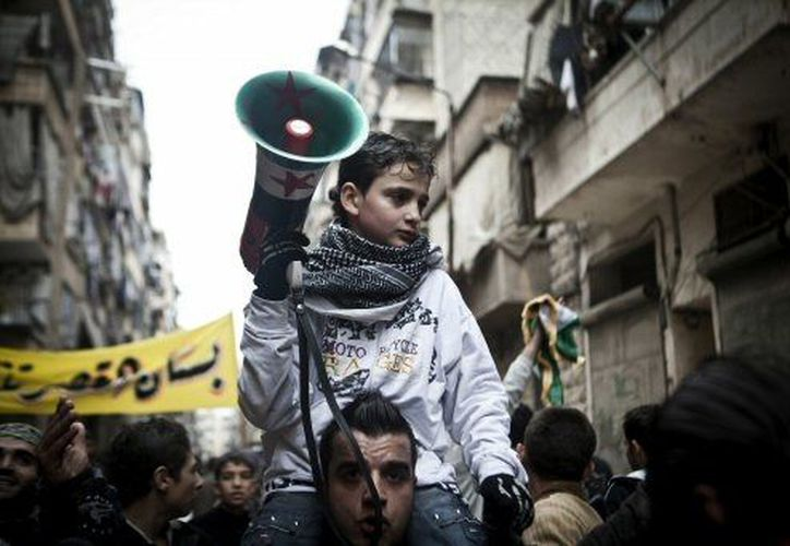 Los sirios se han manifestado en múltiples ocasiones contra el régimen de al Assad. (Agencias)