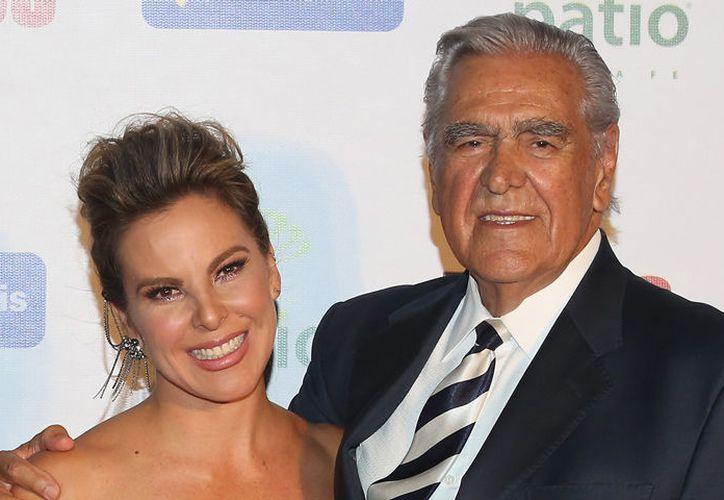 Kate del Castillo y su papá Eric, mantienen una buena relación. (Foto: contexto)