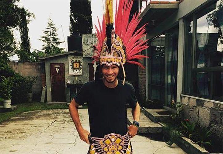 El cantante de Backstreet Boys, Brian Littrell, compartió a través de Instagram varias fotos sobre su paseo en las ruinas de Teotihuacán. (Instagram)