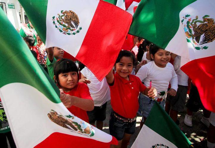 Este 15 de septiembre es la fecha en que millones de mexicanos sacan lo mejor de sí para festejar un aniversario más del inicio de la guerra de Independencia. (Archivo/Notimex)