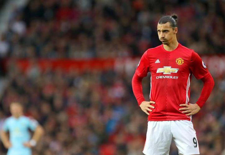Zlatan Ibrahimovic volverá a jugar con el Manchester United. (Contexto/Internet).
